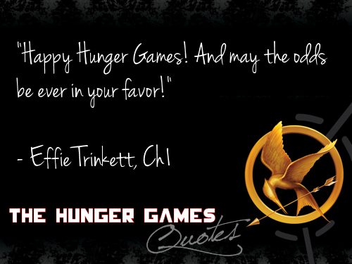 Hunger Games Quotes Cinna Hunger Games Hunger Games