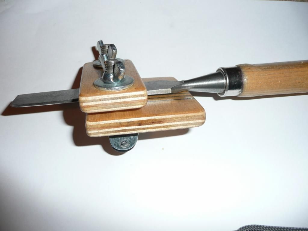Tool For Sharpening Chisels Sharpening Jig Instwood
