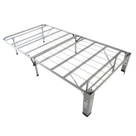 Hollywood Bed Bedder Base Silver Twin Bed Bb1430t Box Spring