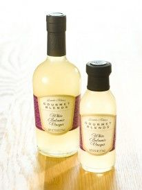 White Balsamic vinegar, as talked about on The Doctors.  Great low cal salad dressing paired with olive oil.