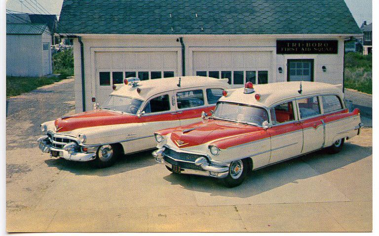 Cadillac Ambulances  shared by  New York Firestore.