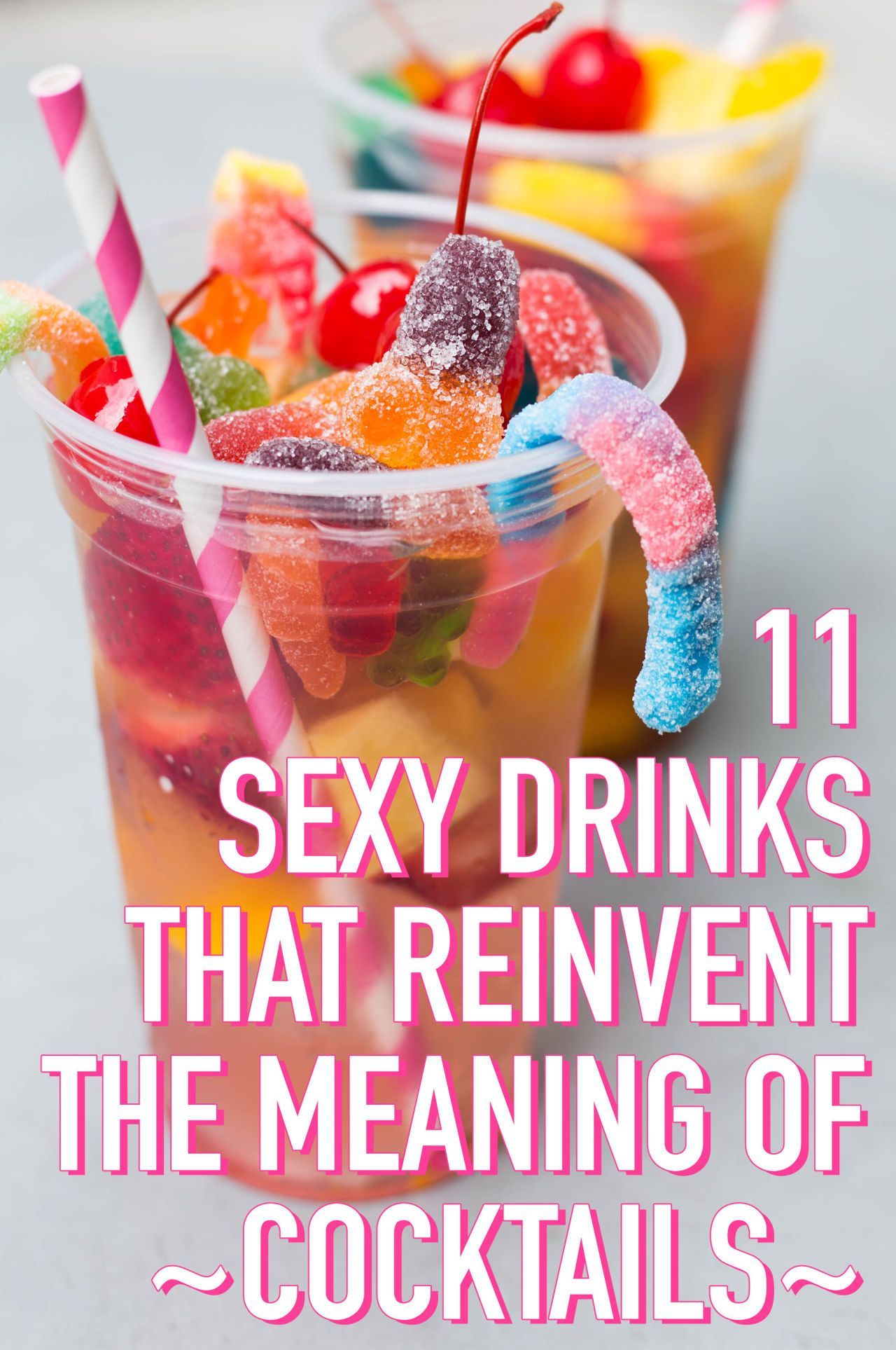 10 Sexy Drinks That Reinvent The Meaning Of Cocktails