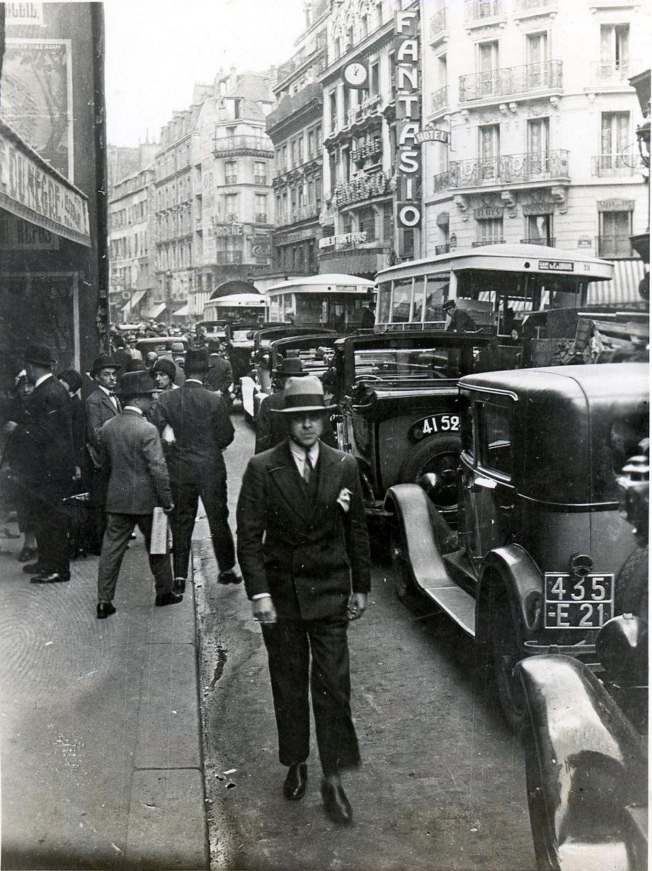 Parijs, augustus 1929