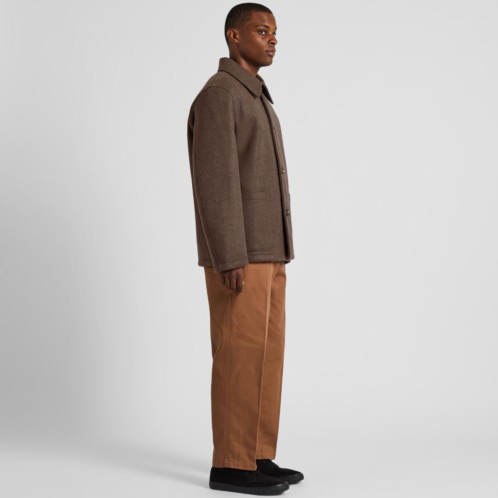 Men Uniqlo U Windproof Long Sleeved Fleece Jacket Fleece Jacket Windproof Jacket Mens Fleece [ 1000 x 1000 Pixel ]