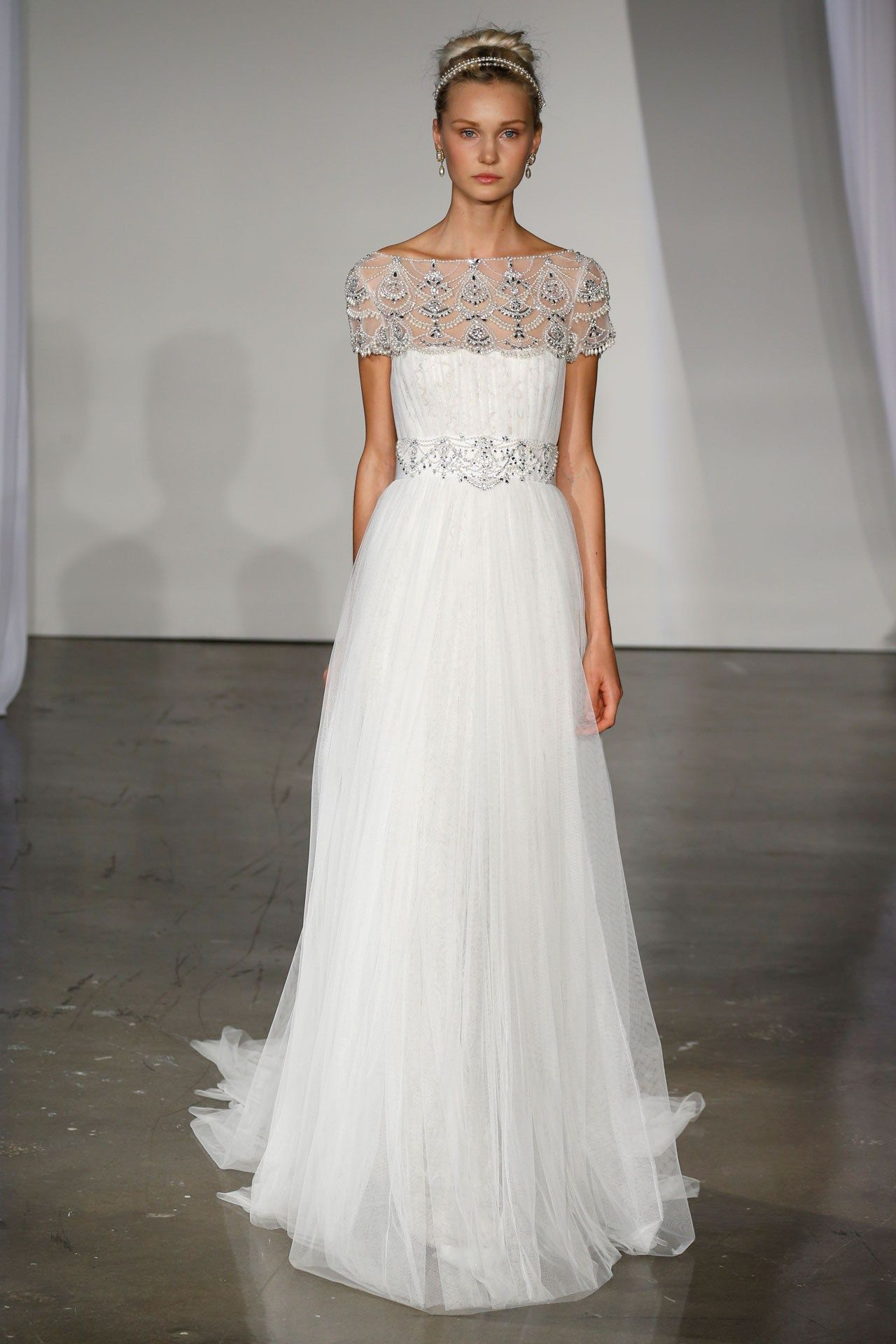 White and silver wedding dresses  Wedding Dresses  The Ultimate Gallery BridesMagazine