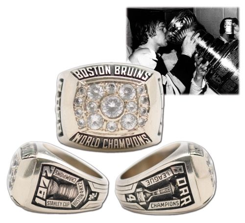Bruins 1972 Stanley Cup Championship Ring