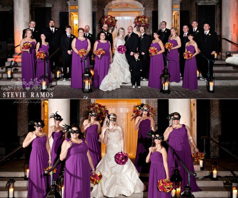 mardi gras wedding reception  Ashley  Katie Married More soon to come Brian  Stephanie