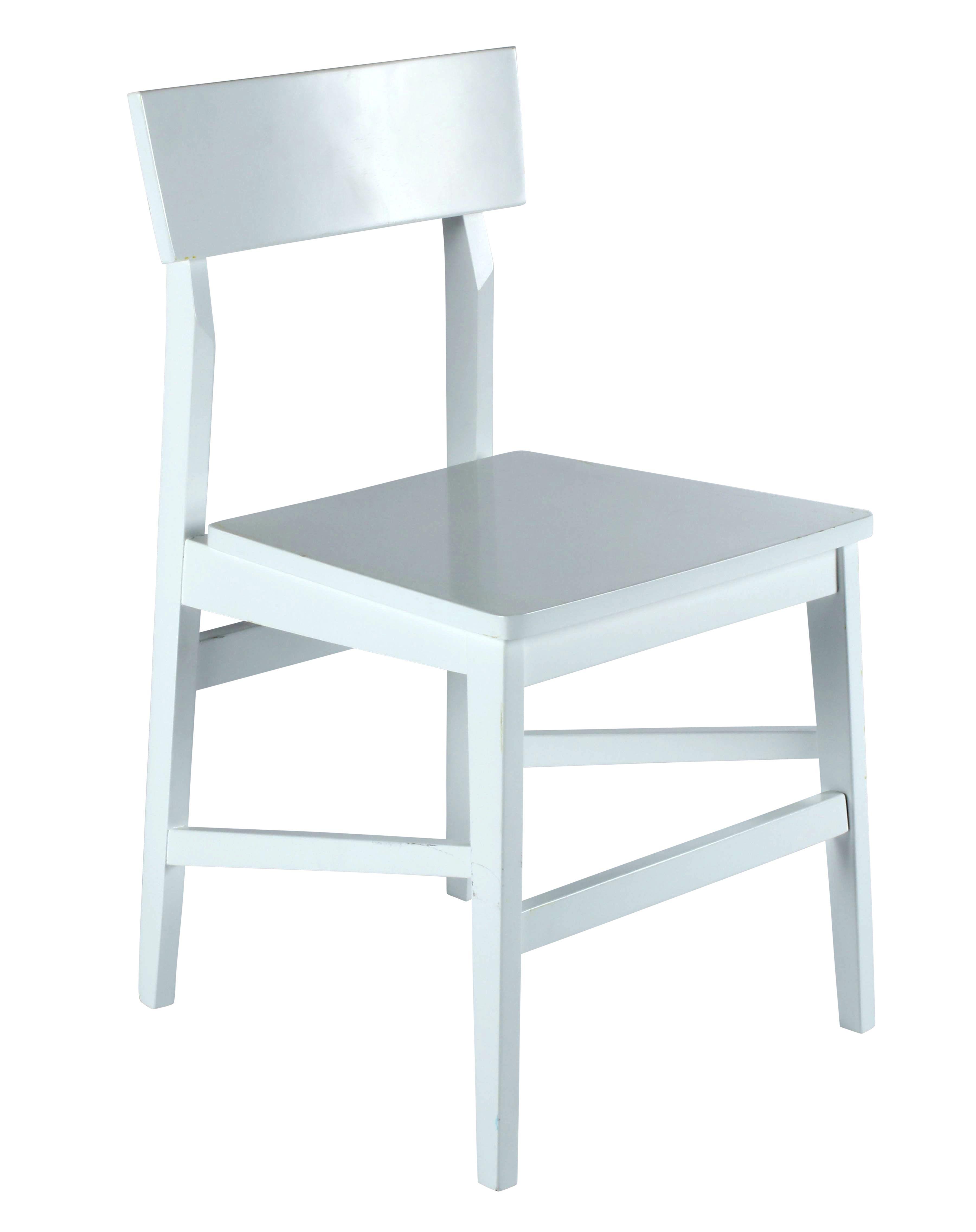 Chaise NADEGE Blanc Meuble canapé, Chaise et Achat meuble