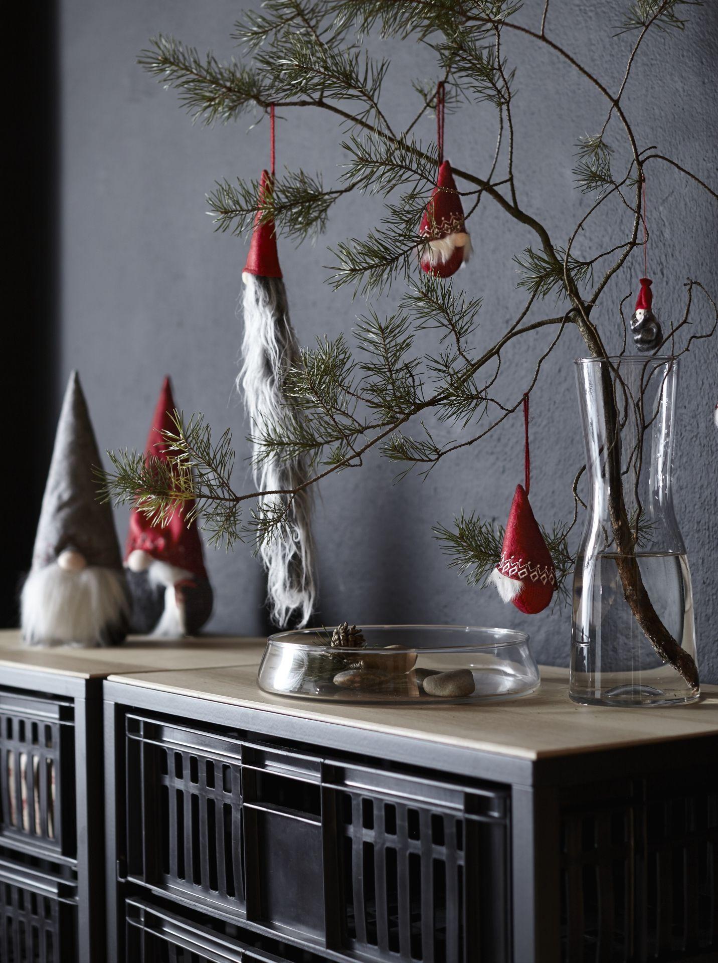 vinter 2017 decoratie ikea ikeanl ikeanederland kerst inspiratie kerstinspiratie kerstman interieur wooninspiratie versiering winter tidvatten schaal
