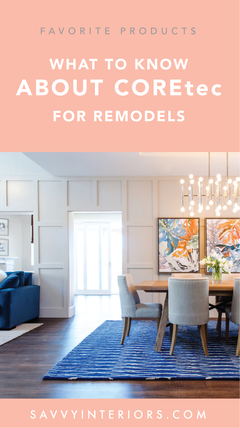 Best Flooring For Home Remodels On A Budget Coretec Luxury Vinyl