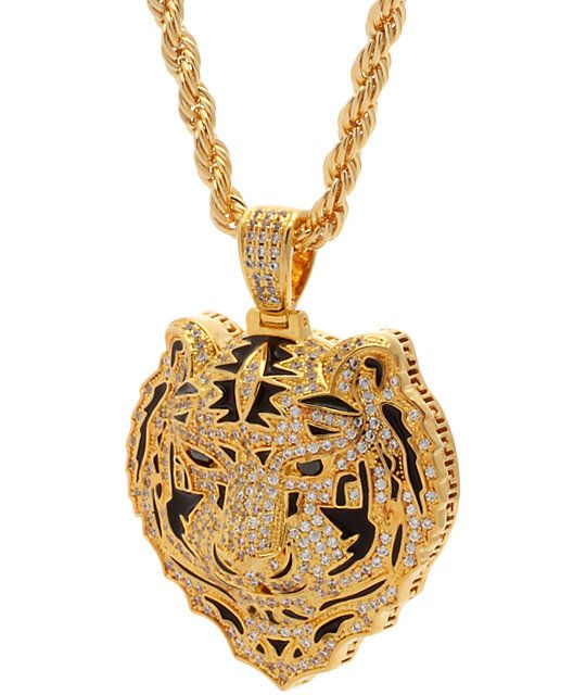 King Ice x Snoop Dogg The Bengal Gold Necklace | Gold Rush