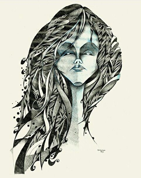 Mulher Azul