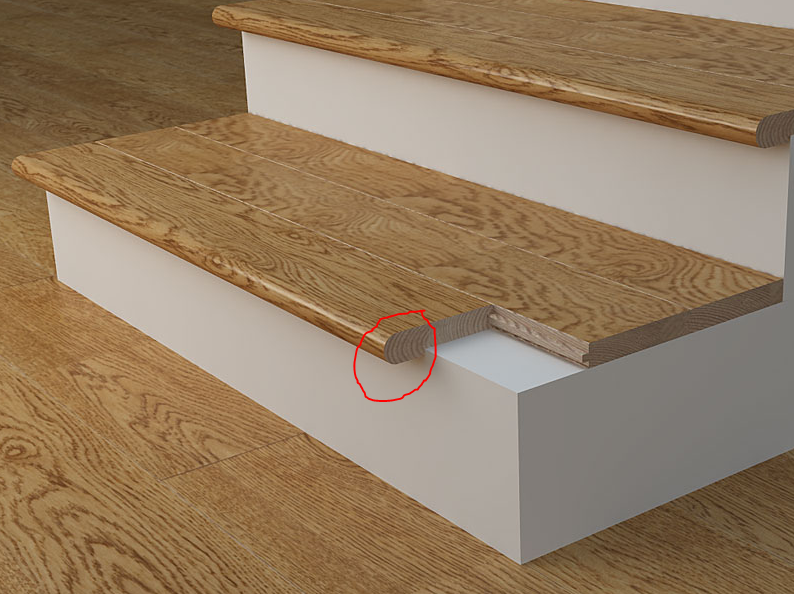 Coswick Stair Nosings Are Manufactured From Solid Oak, Ash And American  Walnut. Finished Stair Nosings Come In Lengths Of And
