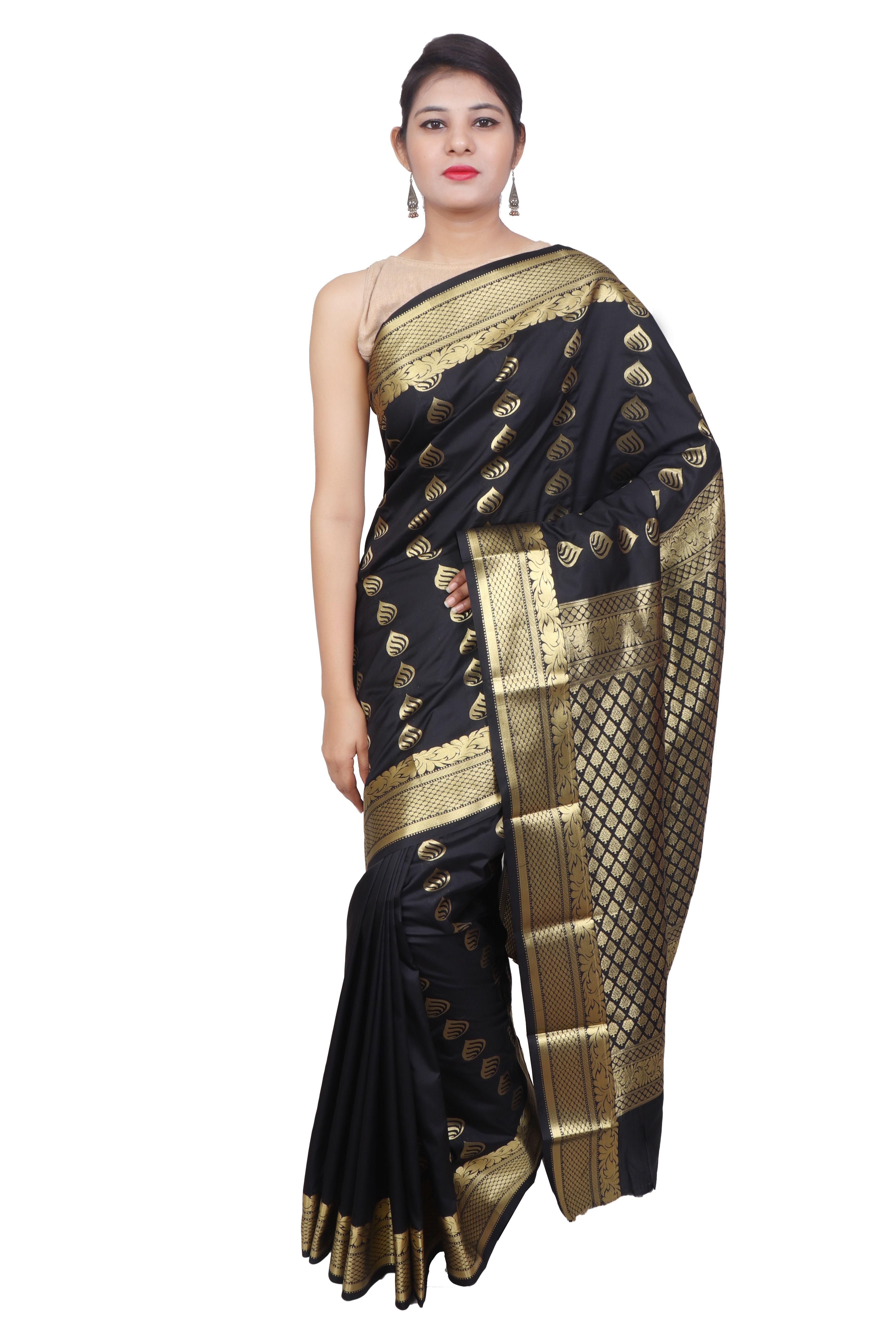 bb3754097 Taluka Fashions Art Silk Zari Woven Design Kanjeevaram Saree ...