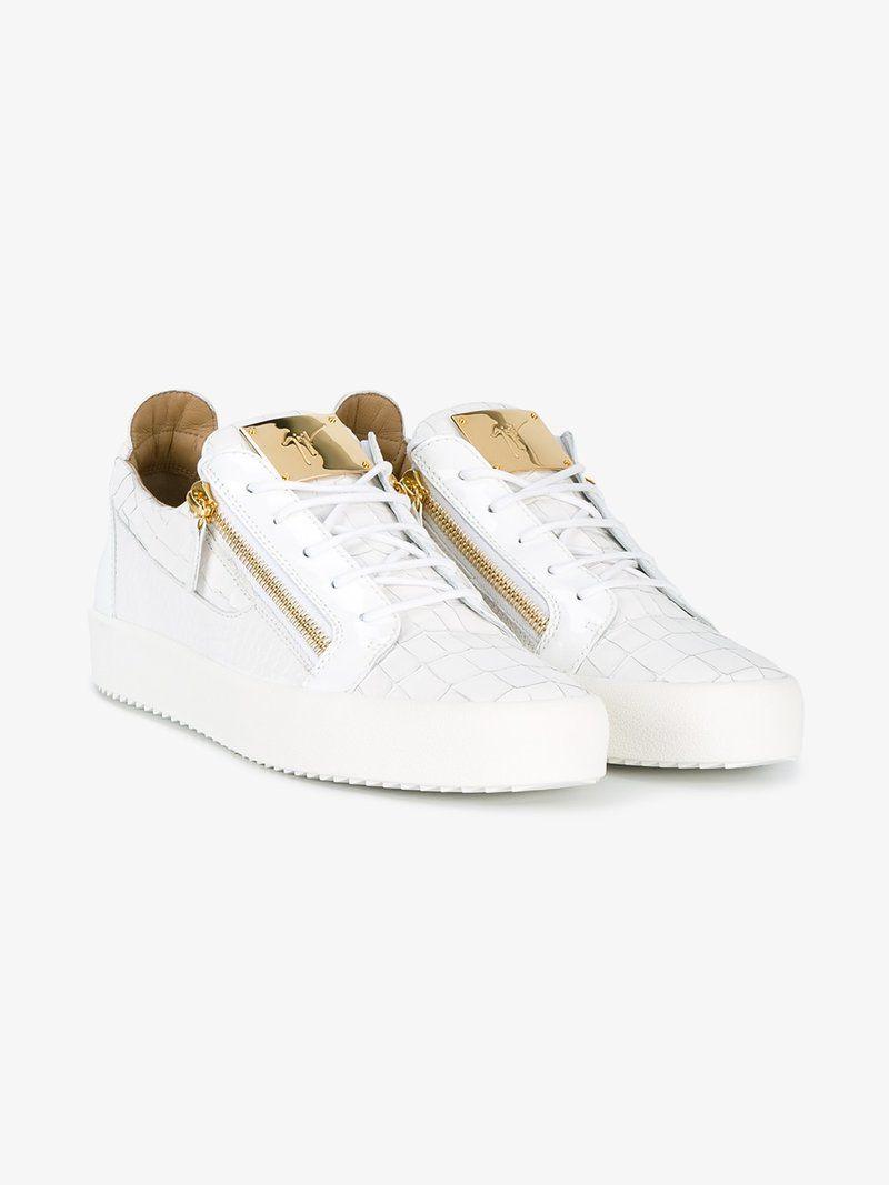 59eef800a9c98 GIUSEPPE ZANOTTI FRANKIE LOW-TOP SNEAKERS. #giuseppezanotti #shoes ...
