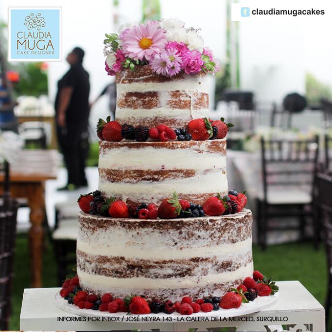 Naked Cake en tu matrimonio: cinco ideas para decorar tu