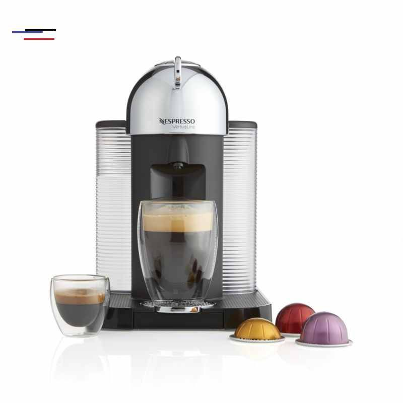 Nespresso By Breville Vertuoline Chrome Coffee Espresso Maker Reviews Crate And Barrel Espressomaker The First Nespresso Machine That Brews Both Coffee Em 2020