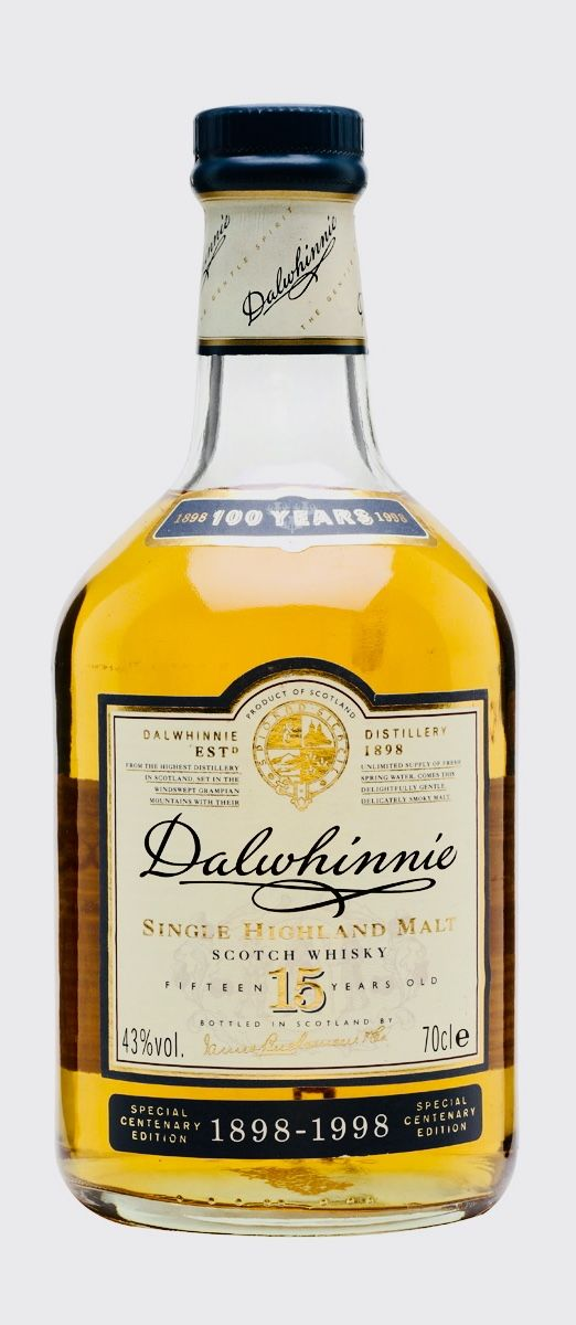 Dalwhinnie 15 Year Old Centenary Speyside Whisky Malt Whisky Whisky Bar