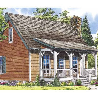 1 000 Square Foot Or Less Makeovers Cottage Plan House Plans