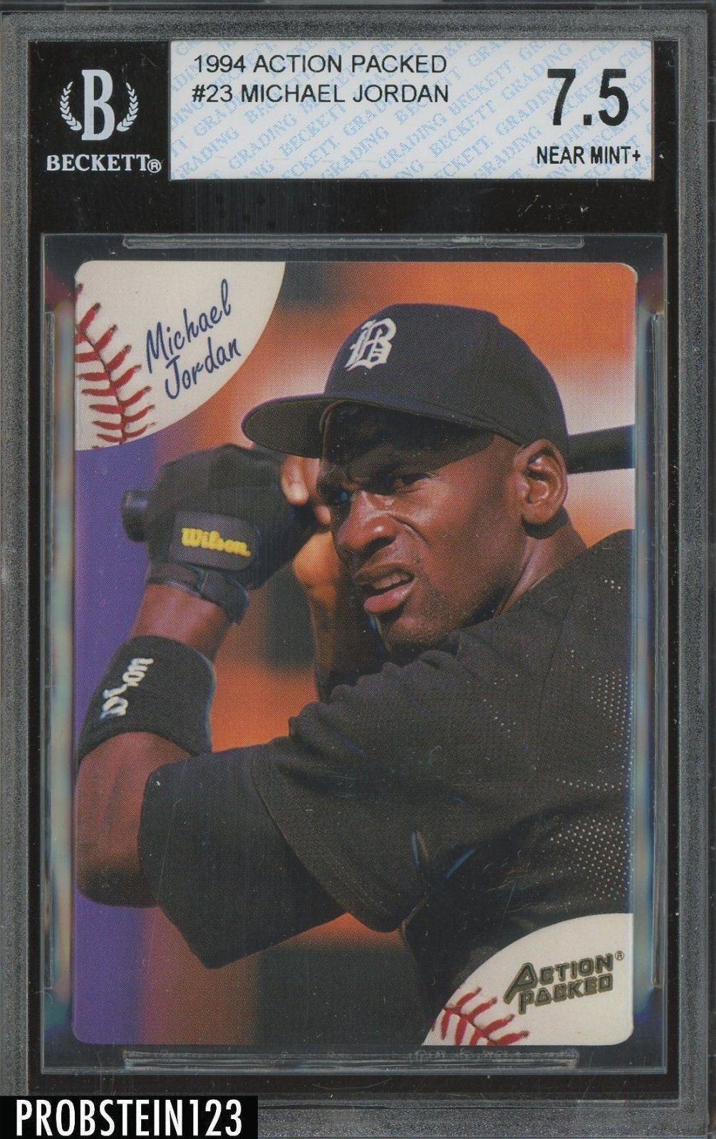 1994 Action Packed 23 Michael Jordan Chicago White Sox Bgs