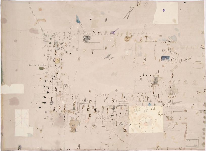A new take on Cy Twombly by Pierogi