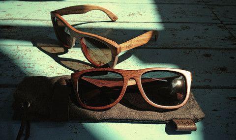Palo Wood Sunglasses.