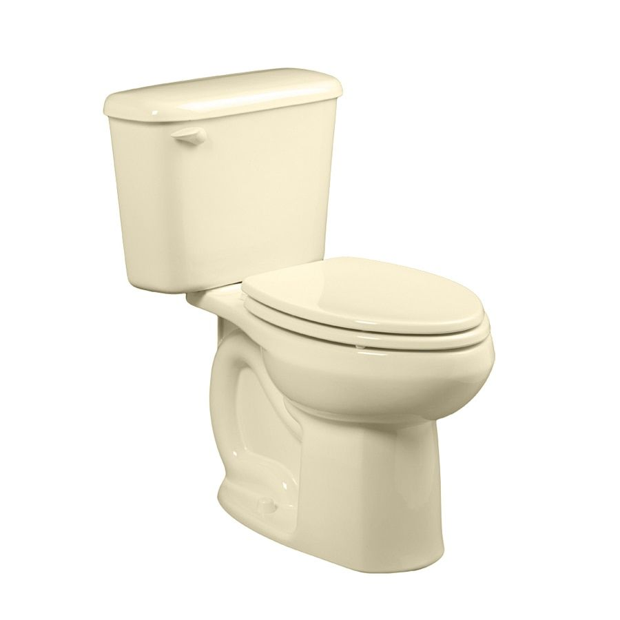 Shop Toilets American Standard Colony Bone Elongated Chair Height 2 Piece Vitreous China Toilet 10 In Rough In Size Ada Compliant In 2020 American Standard Toilet China Toilet