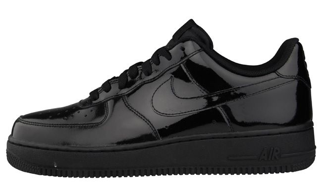 buy online 654d8 9fc6a ... Nike Air Force 1 Low Black Patent (Foot Locker Europe Exclusive) (1) ...