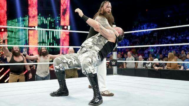 The Wyatt Family def. The Dudley Boyz, Ryback, Kane 12/22/15