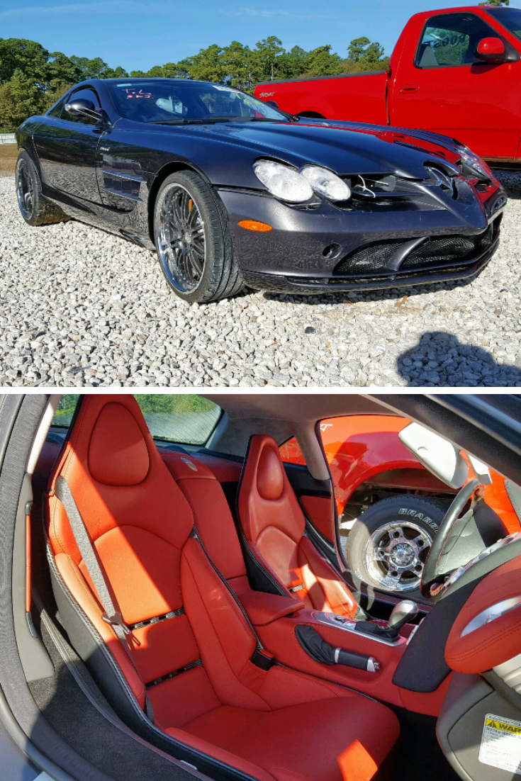 This Luxurious 2006 Mercedes Benz Slr Is Run And Drive Verified And Available In Copart Houston S Online Auction On Tuesday April Mercedes Benz Benz Mercedes