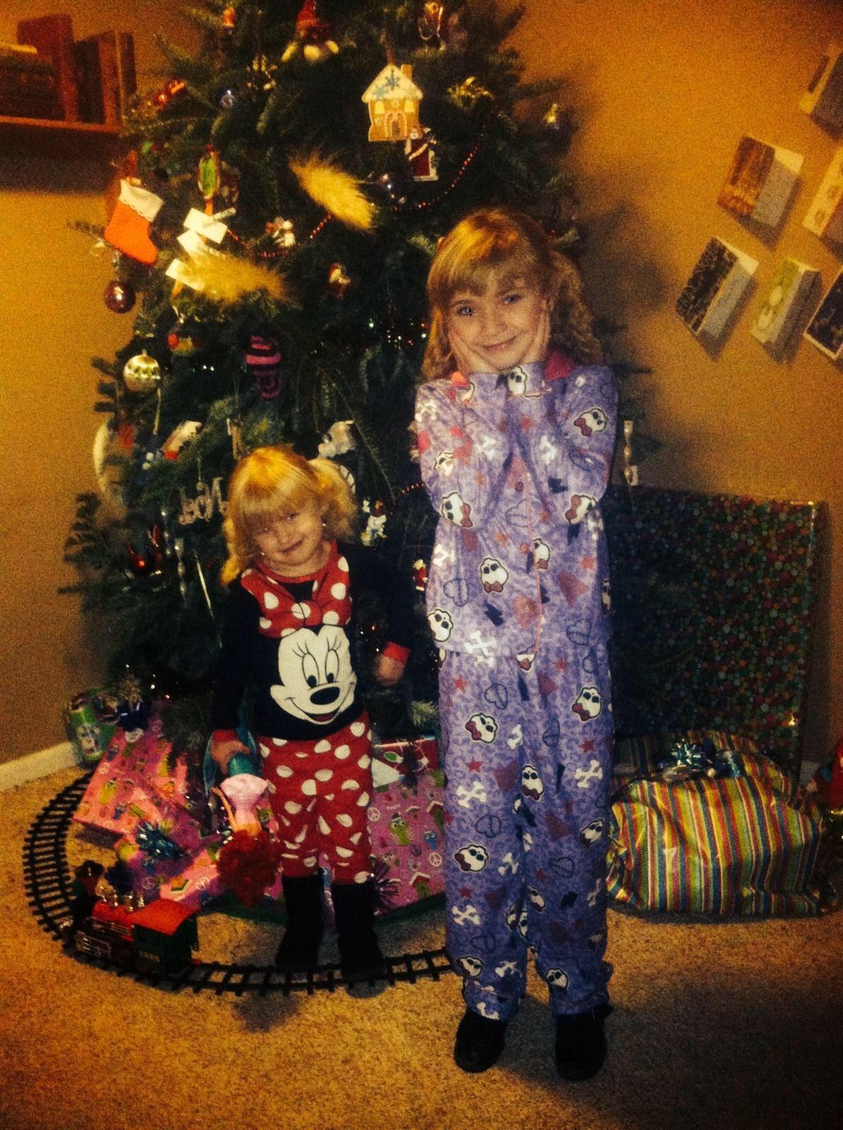 My kids Christmas pj's