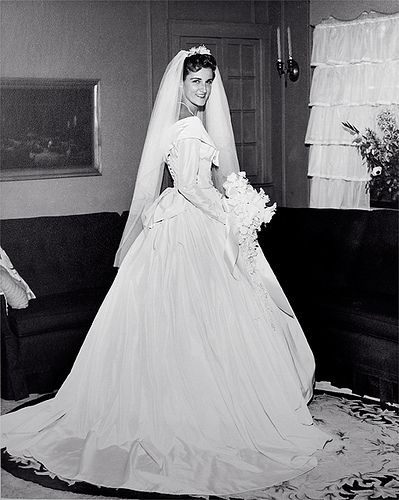 Wedding dress - 1960 by child of the 50s, via Flickr | Old wedding ...