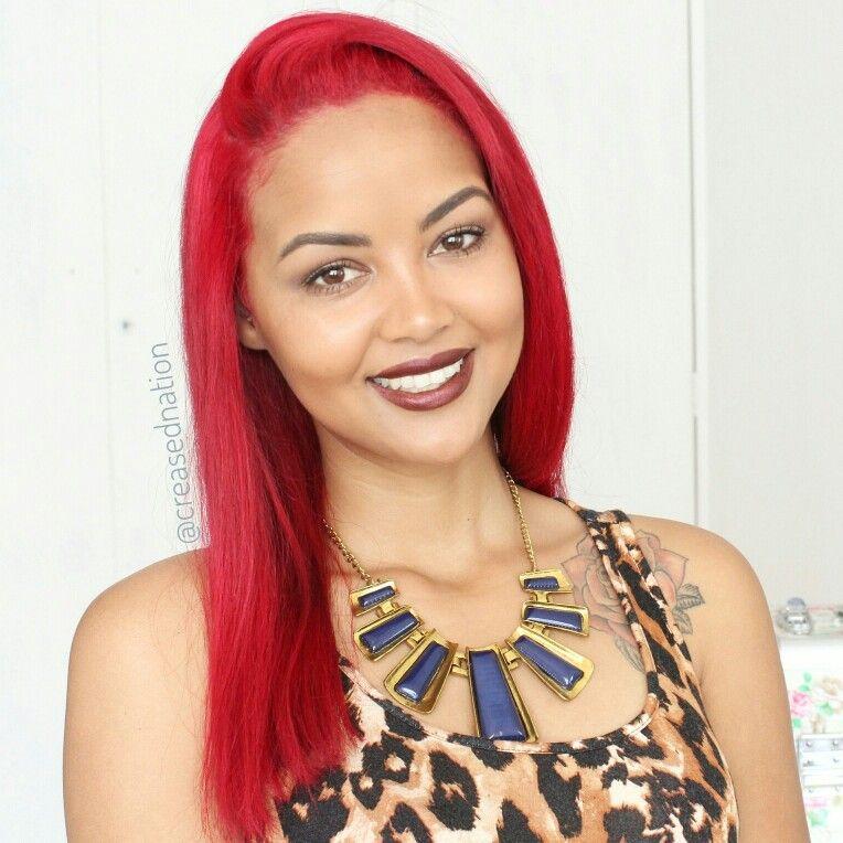 Bright red Rihanna red hair | Rihanna red hair, Hair