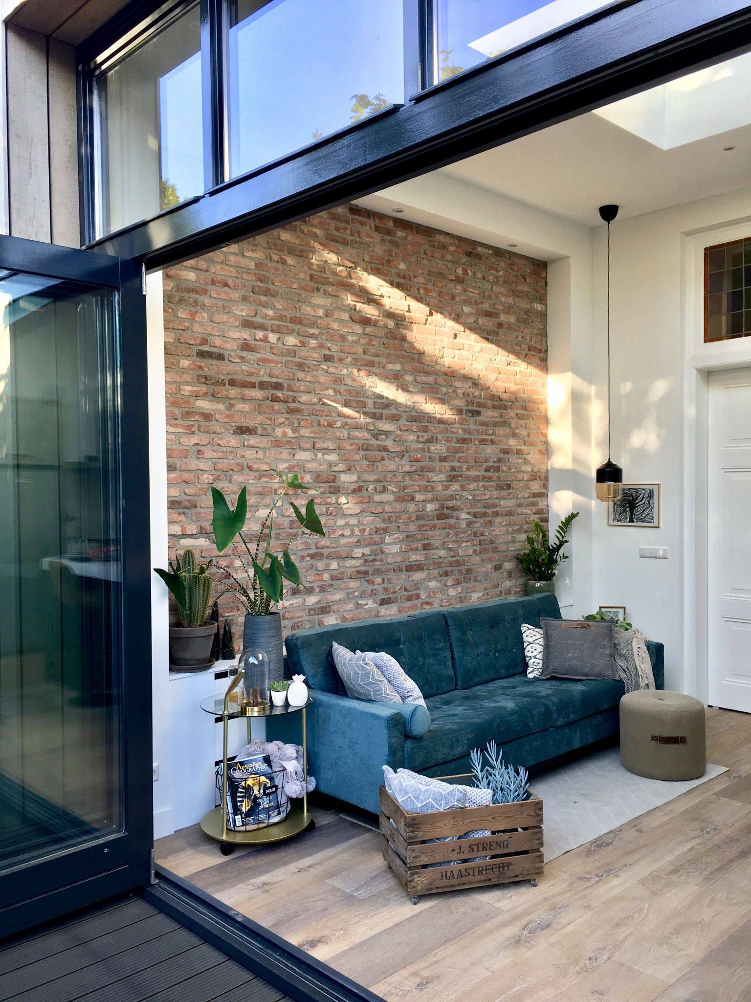 This 130-Year-Old Dutch Home's Reno Is Industrial Boho Chic