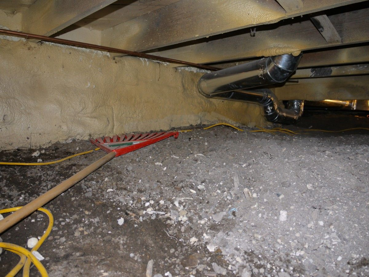 How To Install A Crawl Space Vapor Barrier To Control Moisture And Odor Crawl Space Vapor Barrier Crawl Space Insulation Crawlspace