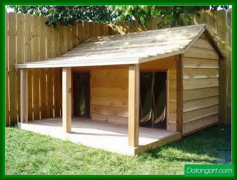 Dog House With Porch Plans1 Design Idea