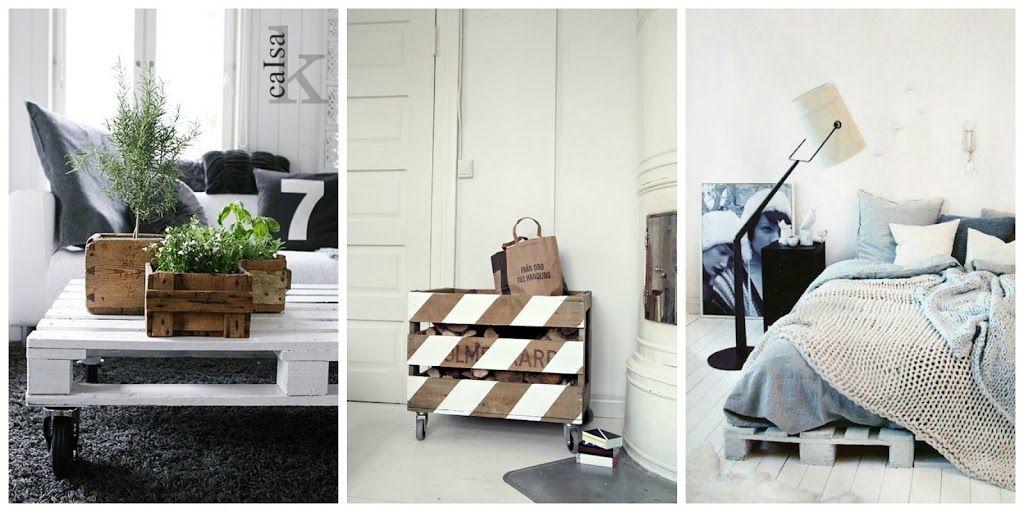 Que faire avec des palettes de bois une table basse palette un lit une étagère ou un canapé voilà quelques idées déco design avec des palettes bois