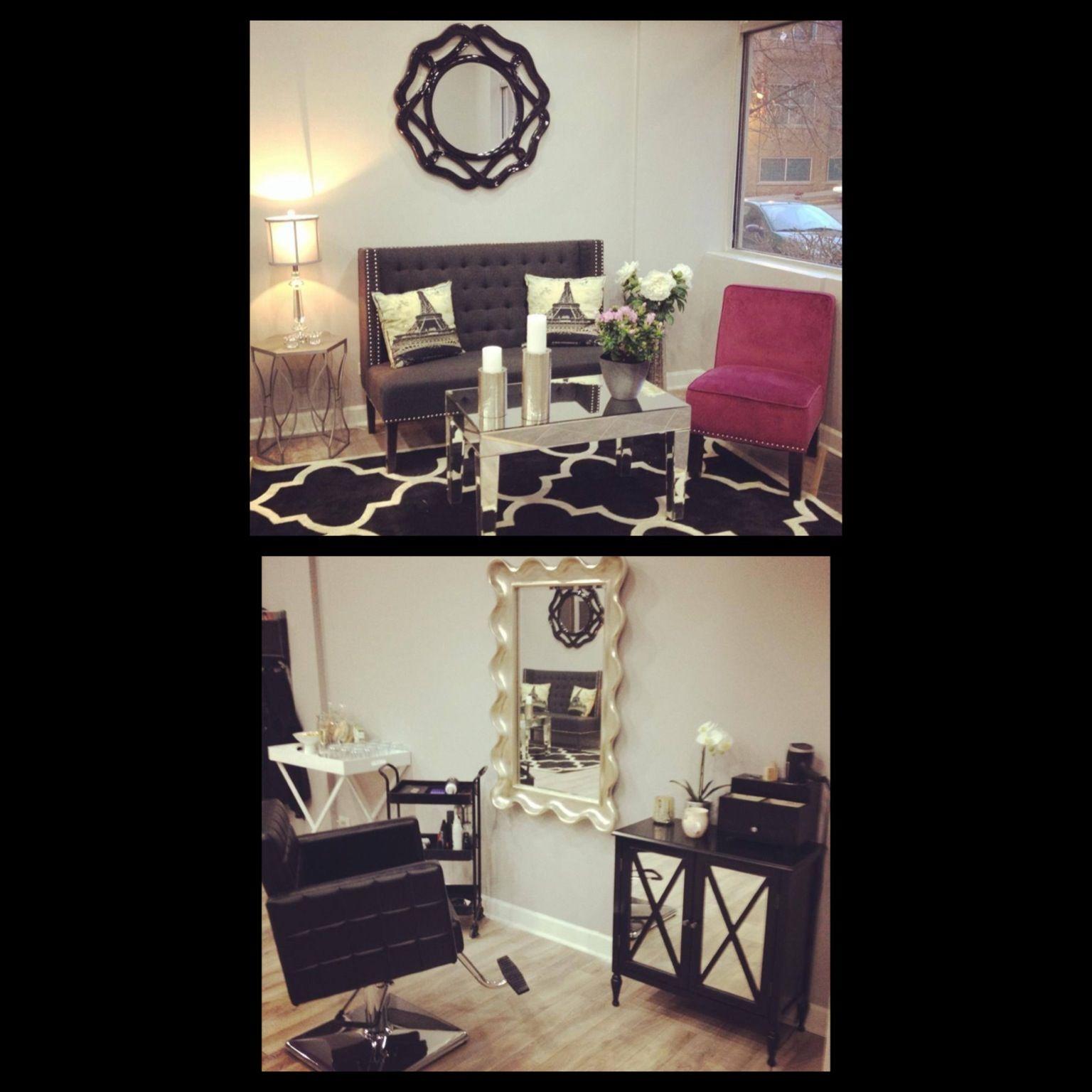 Nice Home Salon Decorating Ideas Part - 6: Hair Salon Decor, Ideas Colors. Amarieu0027s Hair Studio. Chicago