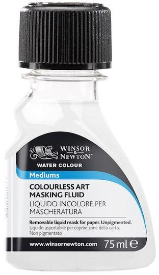 Winsor Newton Watercolor Medium Colorless Art Masking Fluid
