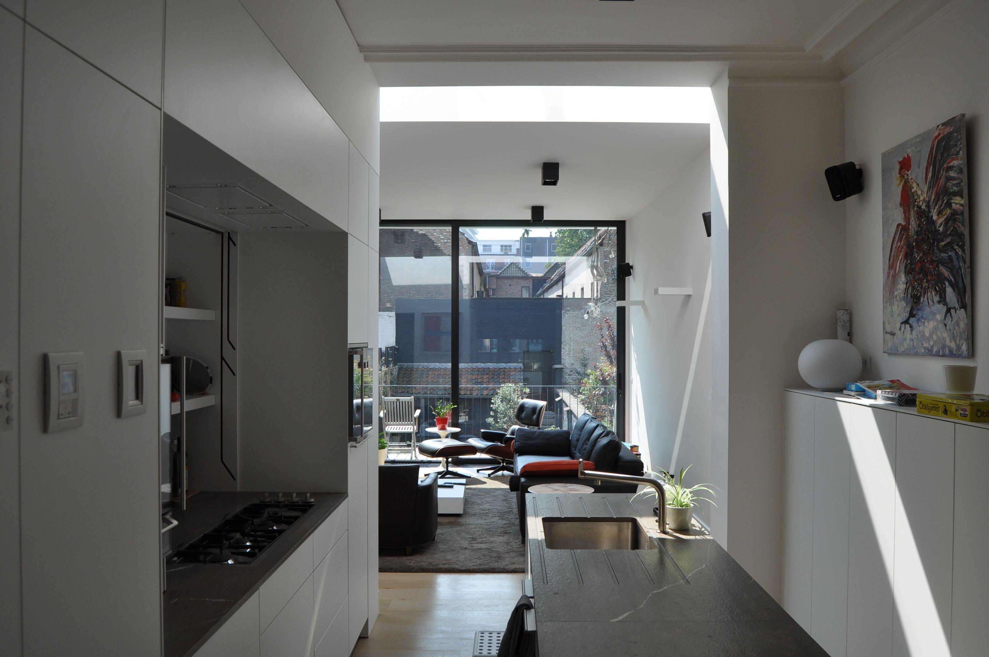 Modern Interieur Herenhuis : Interieur verbouwing herenhuis rijwoning te gent house