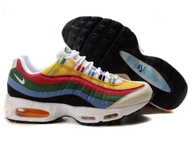 Find 307272 172 Nike Air Max 95 Olympic White Metallic Gold Chili Red Photo  Blue Lastest online or in Pumacreeper. Shop Top Brands and the latest  styles ...