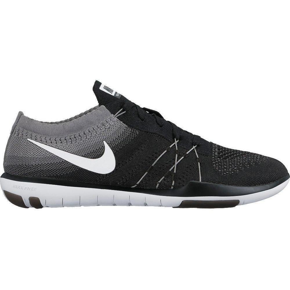 72353d7c28e7 Nike Free TR Focus Flyknit Black White Size 7