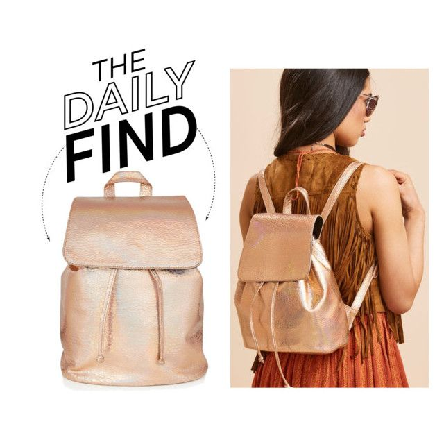 """The Daily Find: Skinnydip Backpack"" by polyvore-editorial ❤ liked on Polyvore featuring DailyFind"