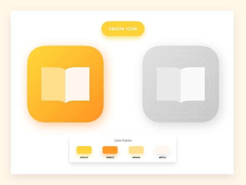 Ebook App Icon Design Picobook App Icon Design App Icon