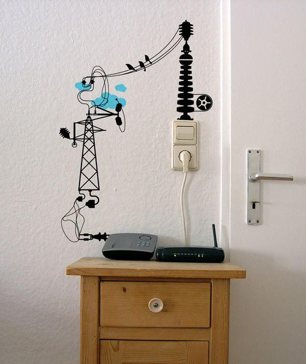 como disfarçar fios