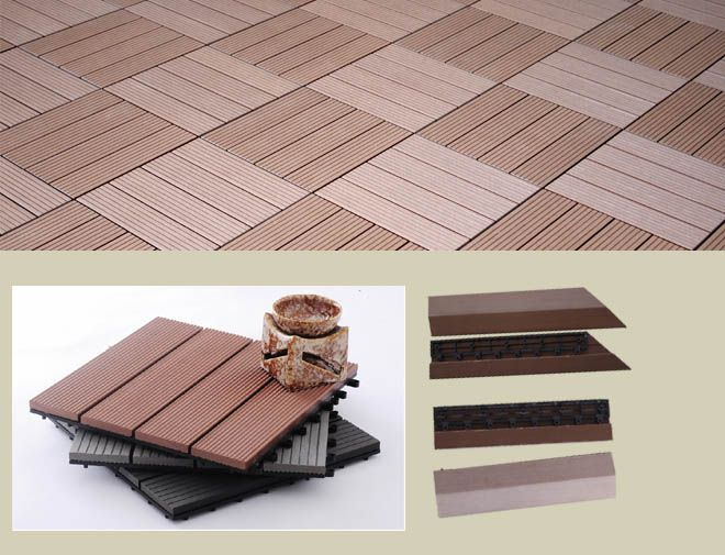 Outdoor Composite Diy Tile Durable Wpc Floor Manufacturer Diy Deck Building A Deck Deck