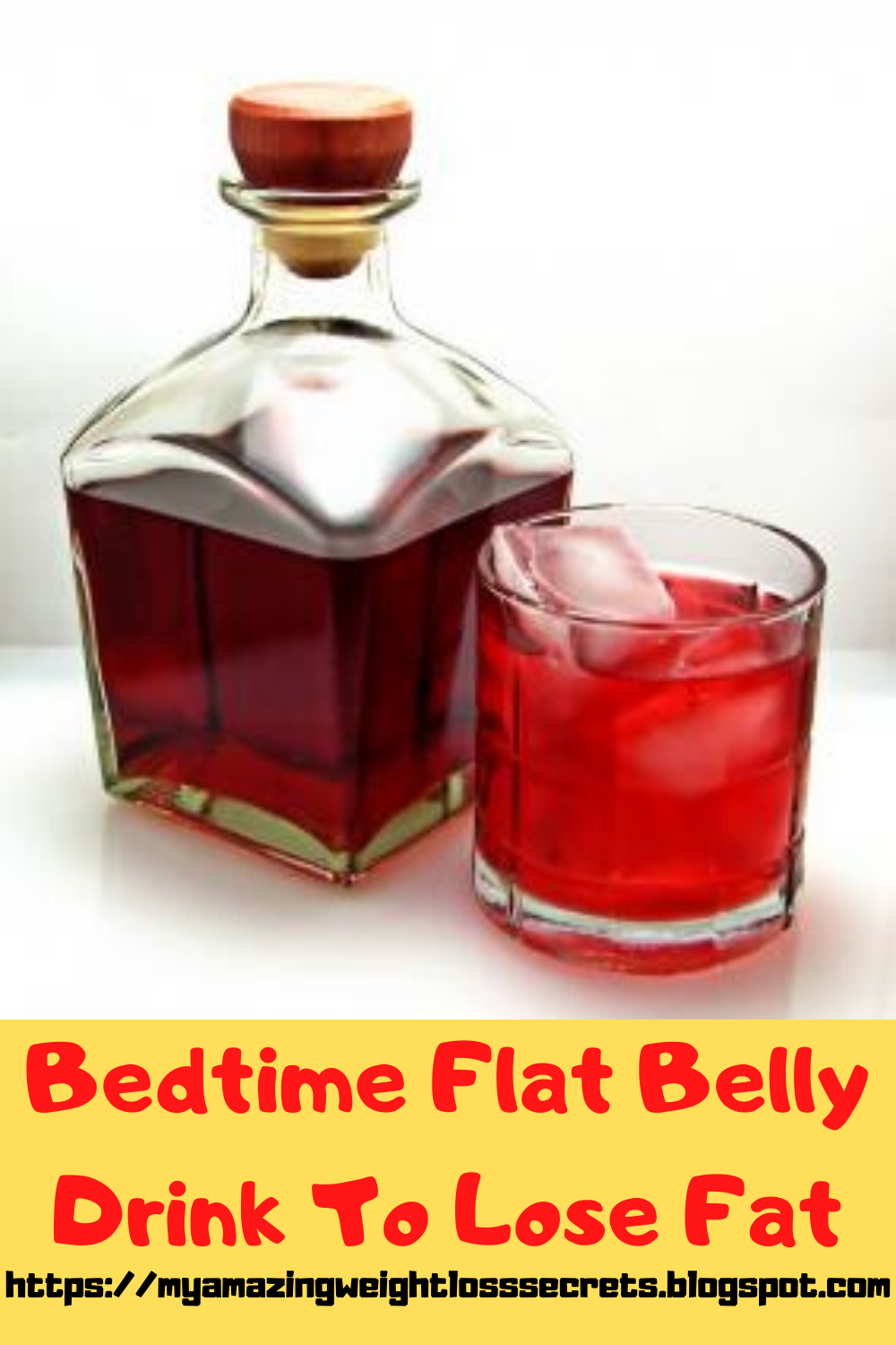 Bed Time Flat Belly Drink To Lose Fat