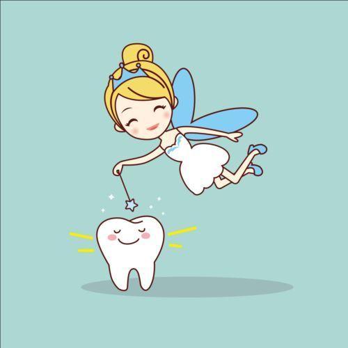 Cartoon tooth fairy vector material 05 - https://www.welovesolo.com ...