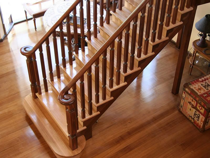 Timber Stairs, Timber Balustrades And Handrails, Melbourne Stairs, 6