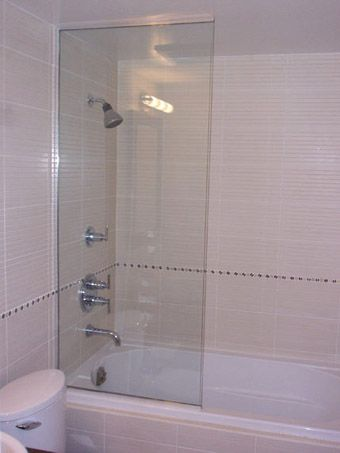 Glass Shower Tub Screen Google Search
